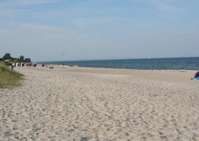 Kilometerweiter Strand